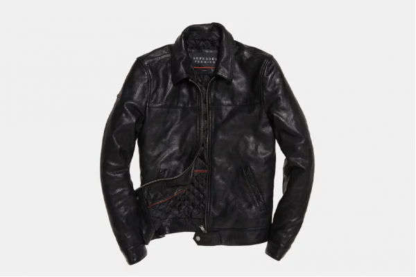 Superdry Indiana Leather Jacket