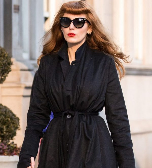 The Rhythm Section Blake Lively Wool Blend Trench Coat