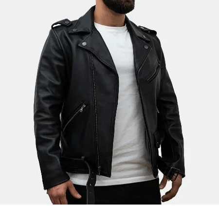 Thursday Boot Motorcycle Leather Jacket