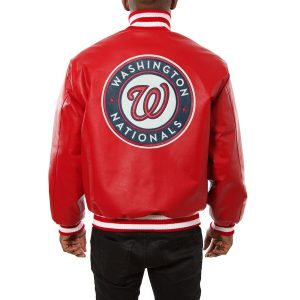 Washington Nationals Baseball Classic Leather Jackets