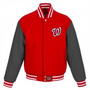 Washington Nationals Wool baseball Varsity Jacket
