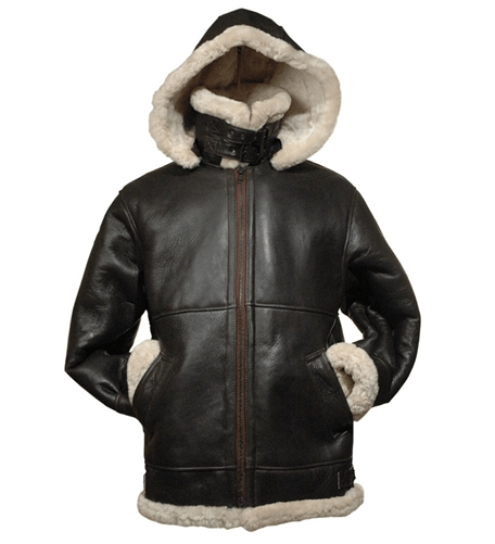 Women Aviator B3 Shearling Bomber Leather Jackets