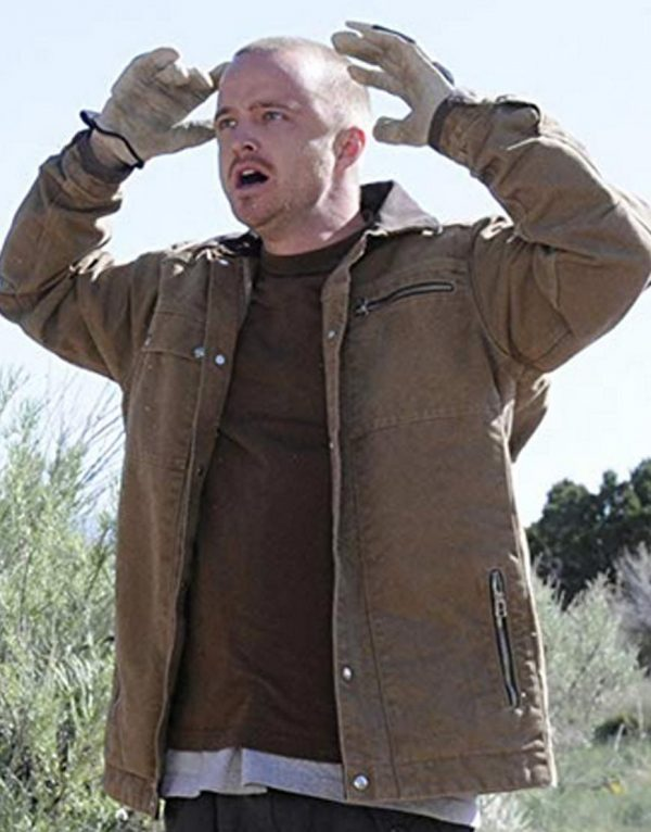 Breaking Bad Jesse Pinkman Light Brown Jacket