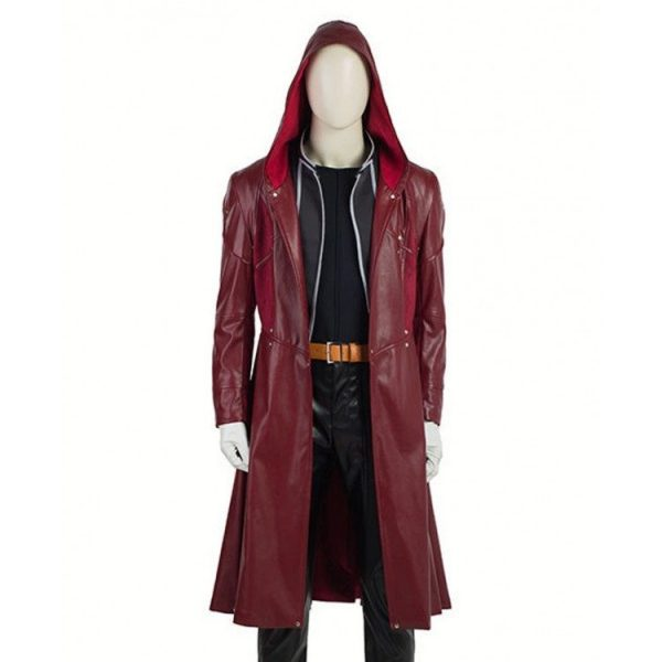 Edward Elric Fullmetal Alchemist Jacket with Hoodie