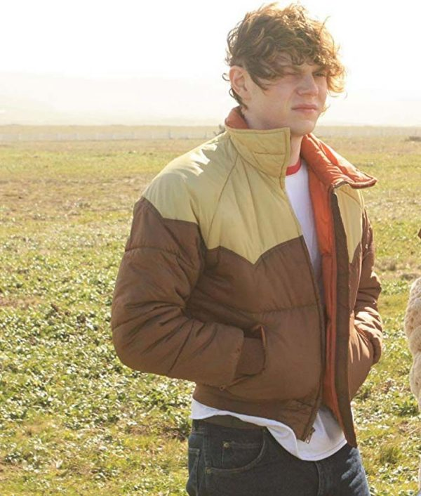 Evan Peters Safelight Charles Bomber Jacket