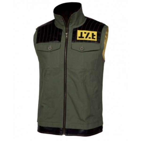Gerard Way Danger Days Killjoys Cotton Green Vest