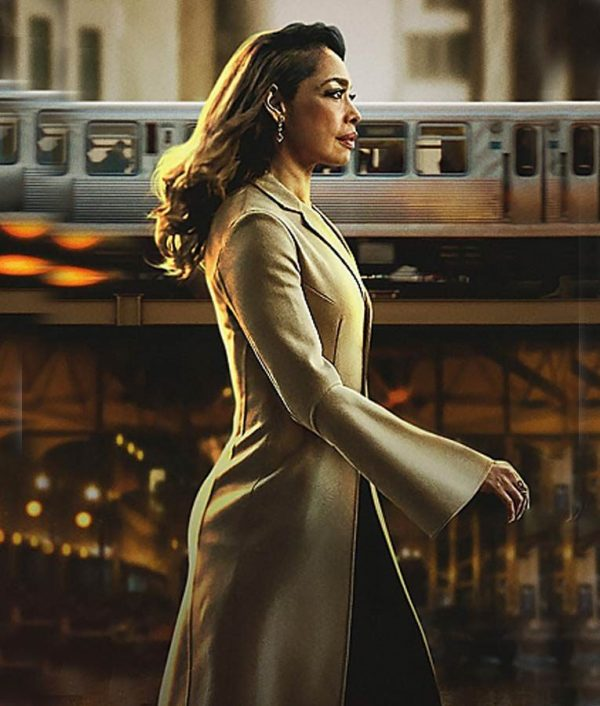 Jessica Pearson Gina Torres Trench Coat