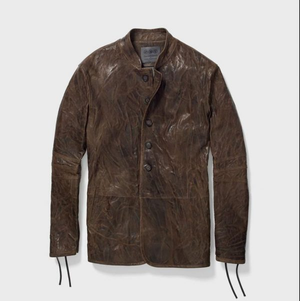 John Varvatos Game of Thrones The Winterfell Leather Jacket
