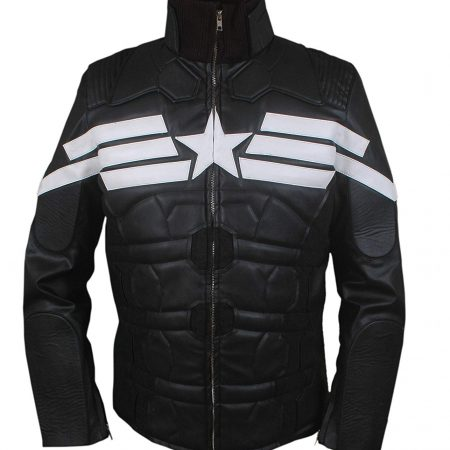 Mens Captain America Winter Soldier Jacket