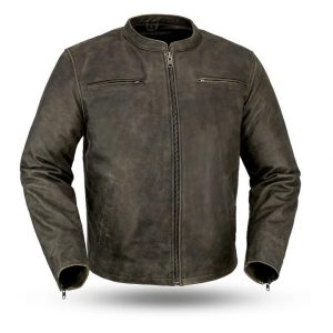 Mens Fashion Drifter Motorcycle Jacket
