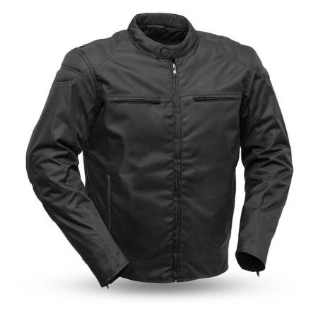 Mens Speedster Codura Black Motorcycle Jacket