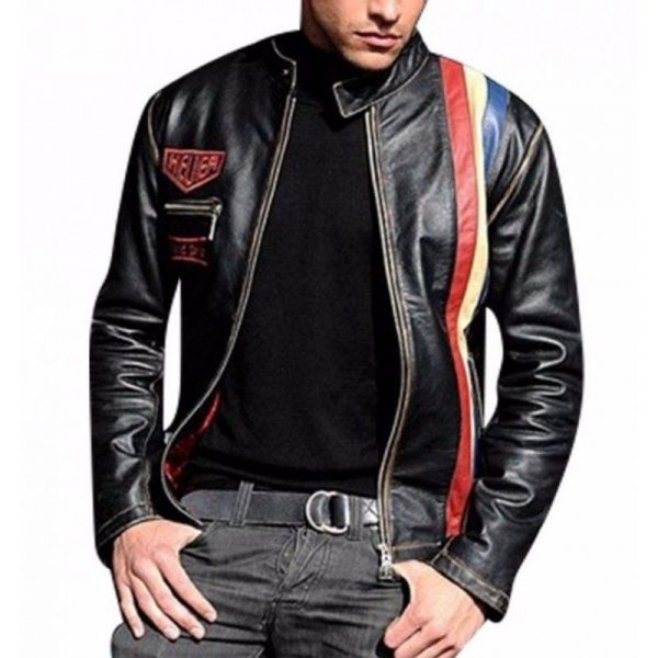 Men's Tag Heuer Leather Jacket
