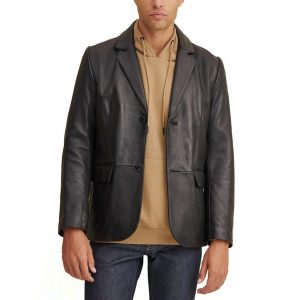 Mens Wilsons Leather Vince Leather Blazer