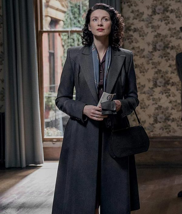 Outlander S03 Claire Randall Wool Coat