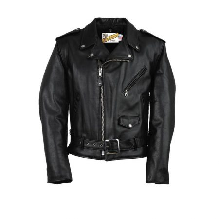 Schott Classic Perfecto The Wild One Leather Motorcycle Jacket