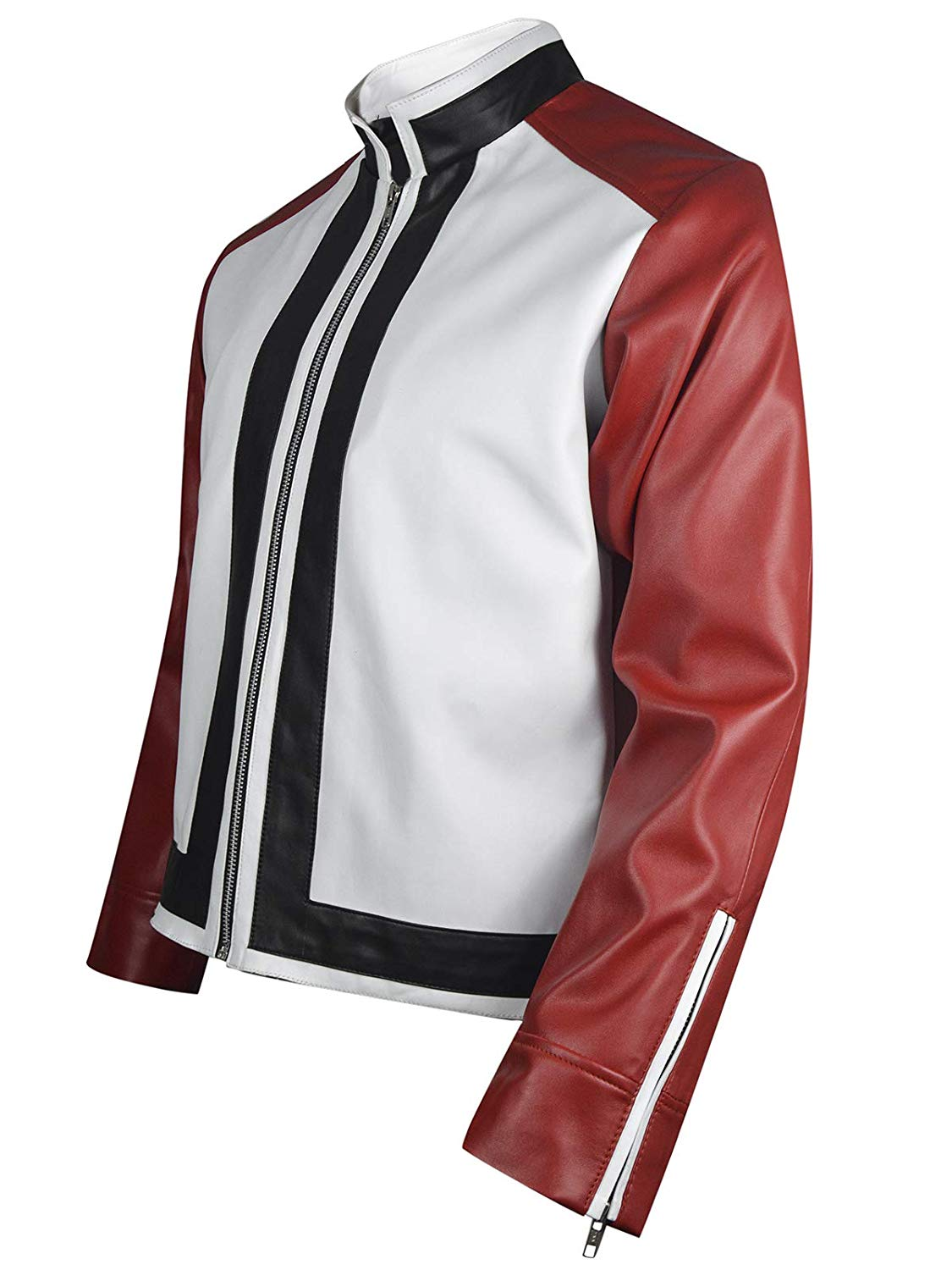 King Of Fighters 14 Rock Howard Red White Leather Jacket Right Jackets Terry bogard is the brother of andy bogard. king of fighters 14 rock howard red white leather jacket right jackets
