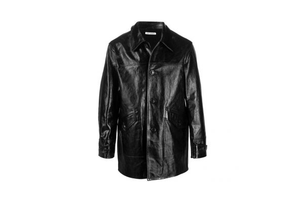 The Legacy Trendproof Buta Black Leather Coat