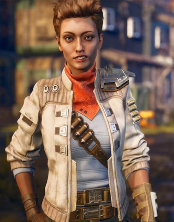 The Outer Worlds Game Leather Jacket