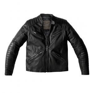The Spidi Metal Black Leather Jacket