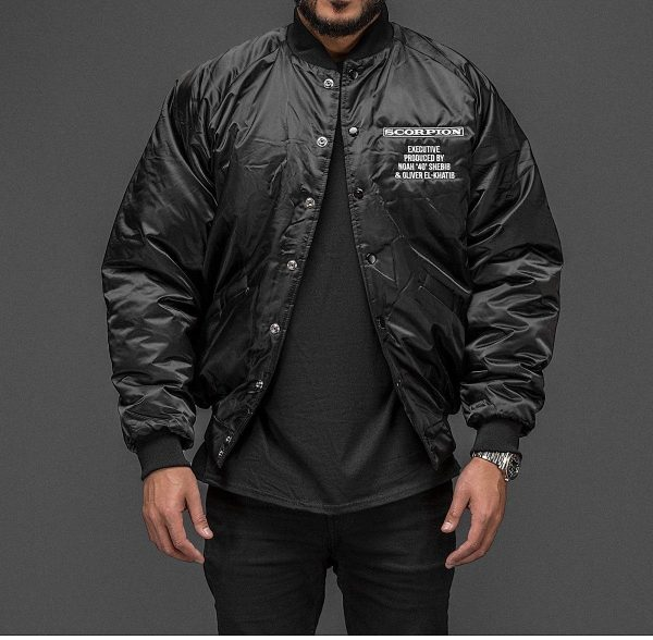 American Singer Drake Scorpion Black Jacket