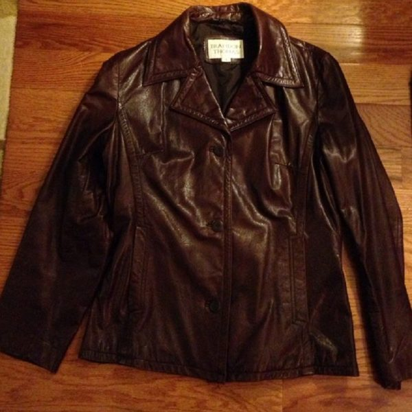 Brandon Thomas Brown Leather Jacket