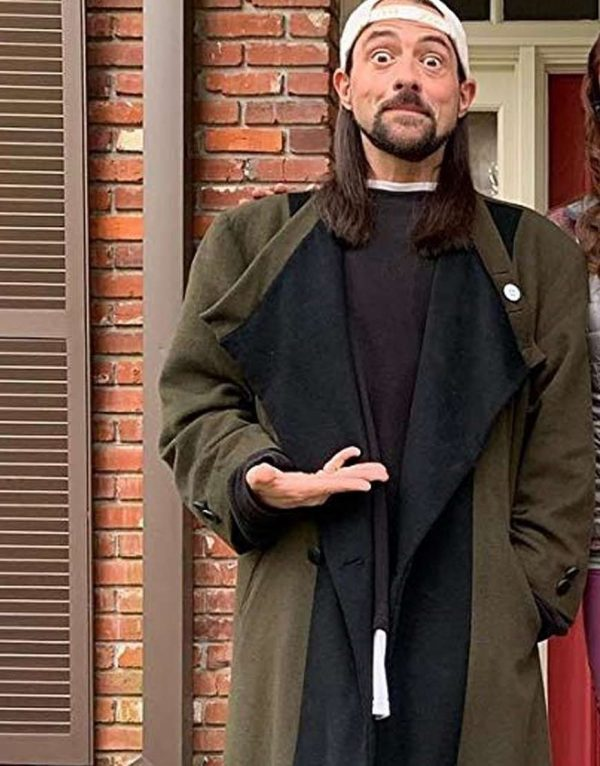 Kevin Smith Jay and Silent Bob Reboot Wool Trench Coat