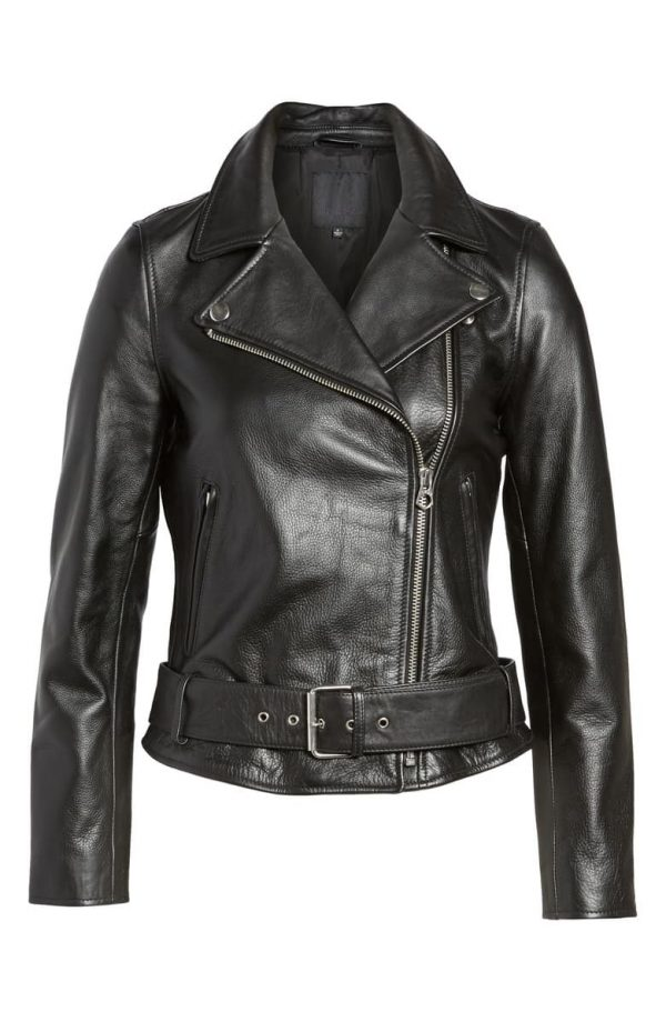 Madewell Ultimate Black Leather Jackets