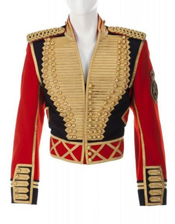 Michael Jackson Leave Me Alone Military Cotton Jacket