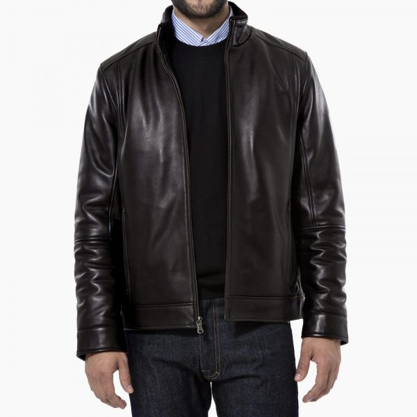 Peter Manning Lambskin Leather Jacket
