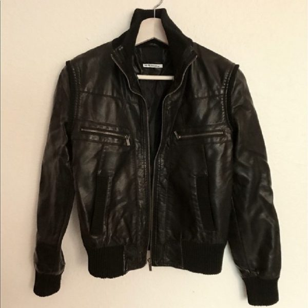 Urban Outfitters Black Leather Jacket