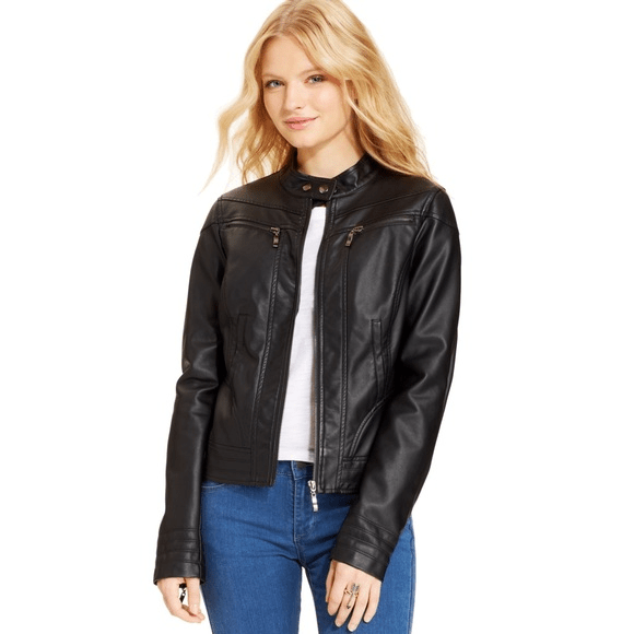 Womens American Rag Leather Jacket