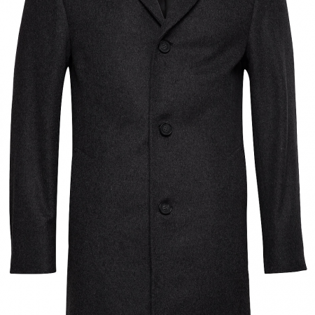 Cashmere Crombie Wool Coat
