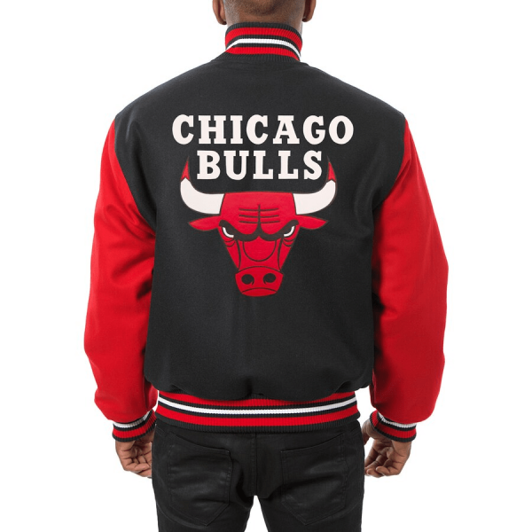 Chicago Bull Leather Jacket