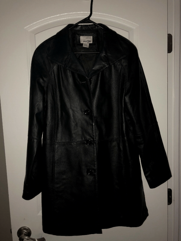 East Black Fifth Leather Jacket
