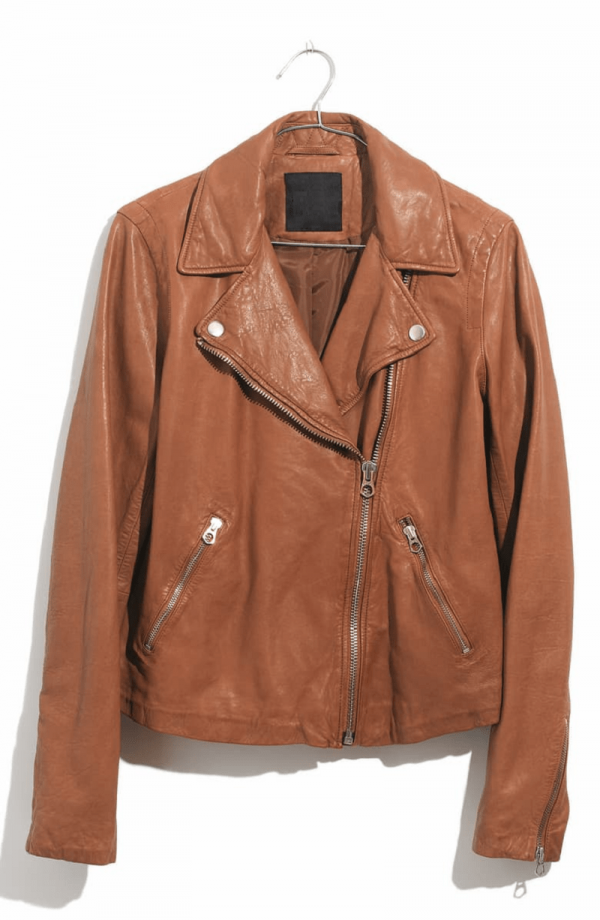 Madewell Washed Leather Jacket