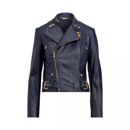 Ralph Lauren Leather Jacket Womens