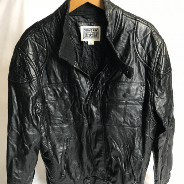 Converse Leather Jacket