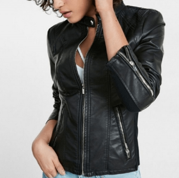 Express Faux Leather Jacket