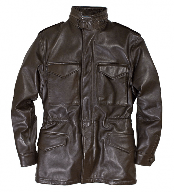 M Collection Leather Jacket