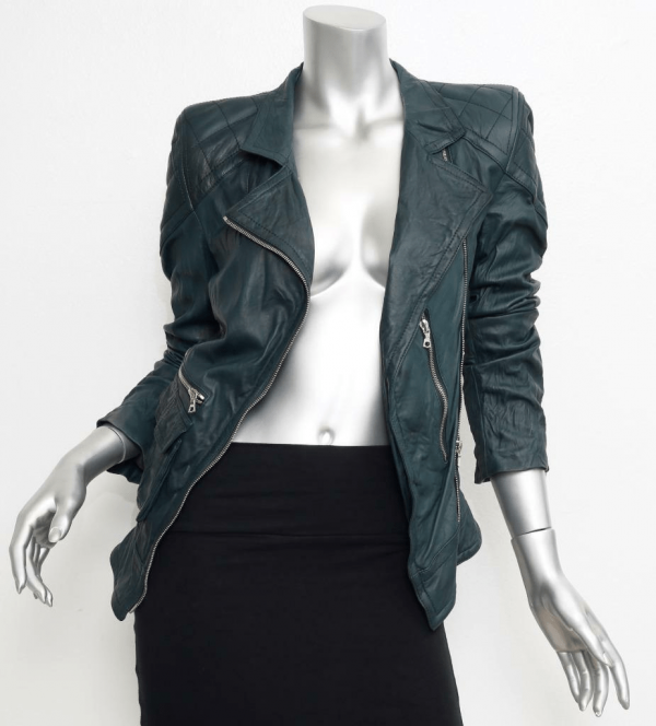 Marc Jacobs Leather Jacket Womens