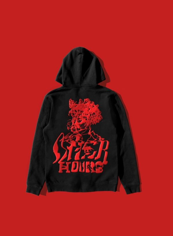 Psychotic Pullover Red Hood Jacket