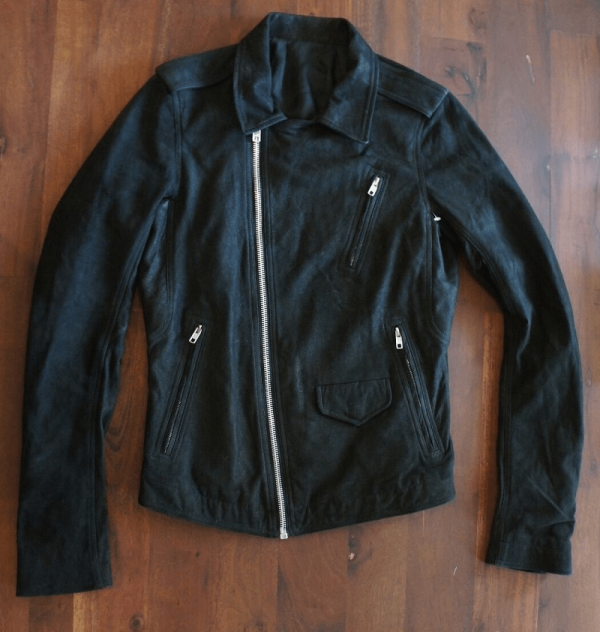 Rick Owens Leather Jacket Men
