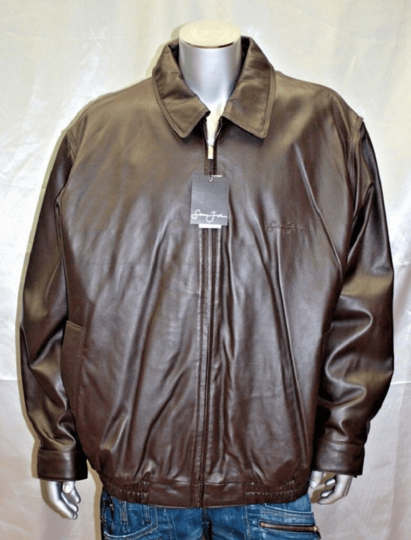 Sean John Leathers Jacket