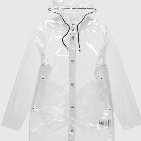 Transparent Stockholm Unisex Raincoat