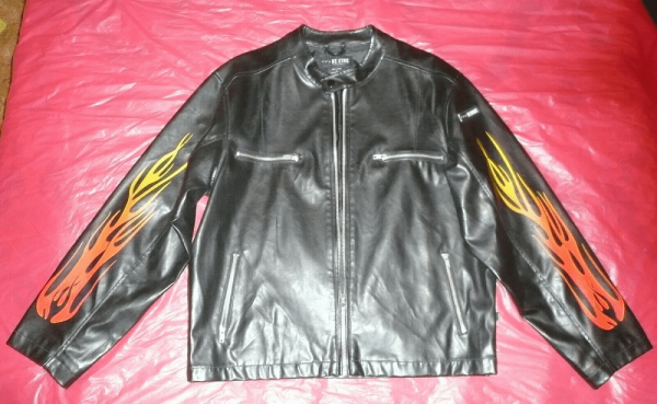 Bcs Ethic Leather Jacket
