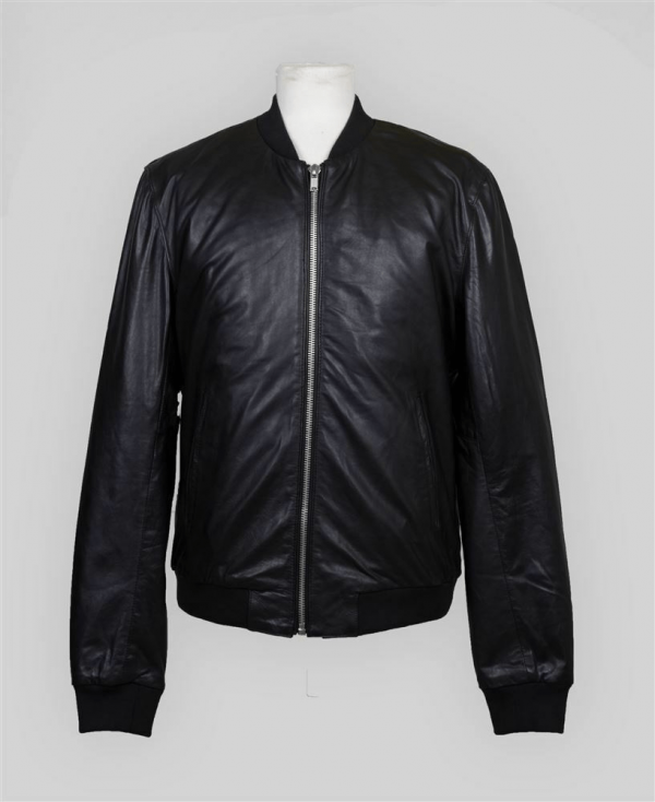 Blk Dnm Leather Jacket 81