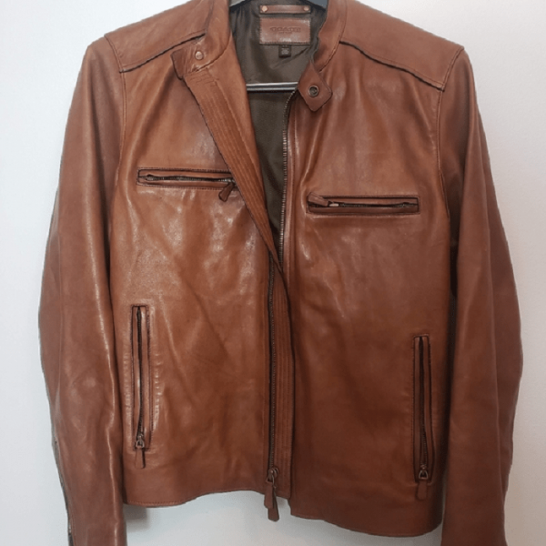 Coach Bleecker Leather Jacket