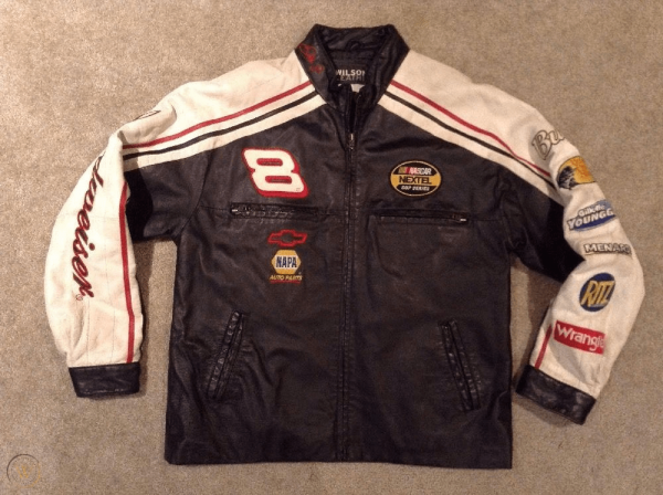 Dale Earnhardt Leather Jacket Chase Authentics