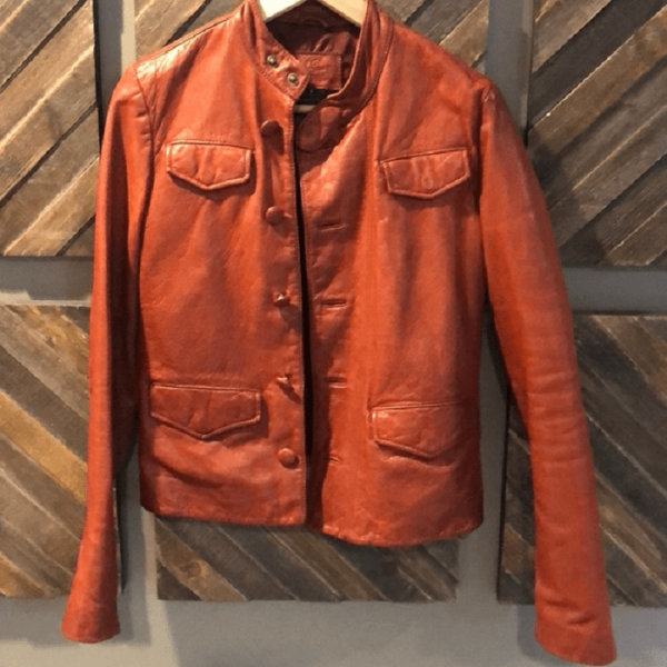 Earl Jean Leather Jacket