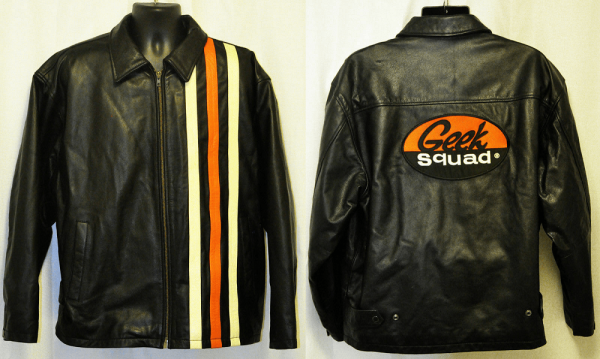 Geek Squad Leather Jacket